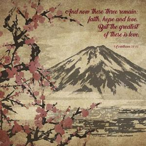 1 Corinthians 13:13 Faith, Hope and Love (Japanese) by Inspire Me