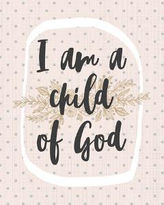 I am a Child of God Dot Pattern by Inspire Me