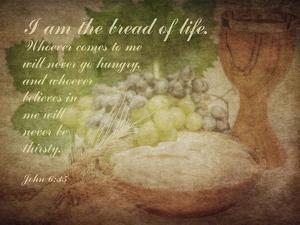 John 6:35 I am the Bread of Life (Grapes) by Inspire Me