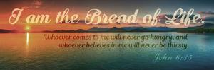 John 6:35 I am the Bread of Life (Sunset) by Inspire Me