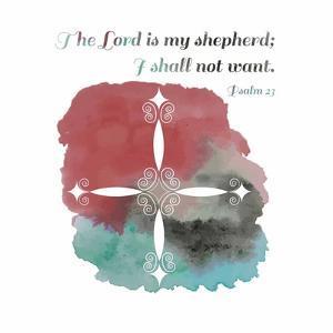 Psalm 23 The Lord is My Shepherd - Cross 2 by Inspire Me