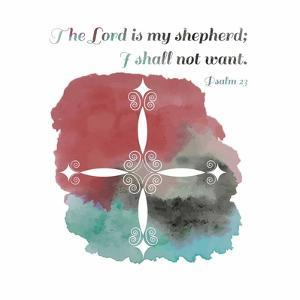 Psalm 23 The Lord is My Shepherd - Cross 2 by Inspire Me