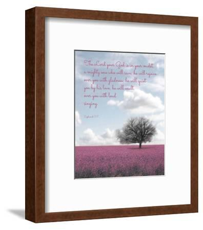 Zephaniah 3:17 The Lord Your God (Colored Landscape)