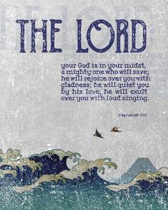 Zephaniah 3:17 The Lord Your God ( Waves) by Inspire Me