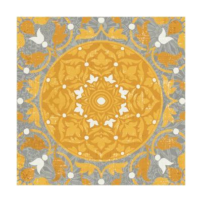 Inspired India Yellow III--Art Print
