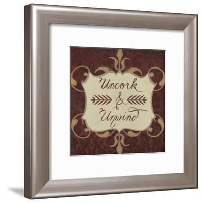 Inspired Wine V-Vision Studio-Framed Art Print