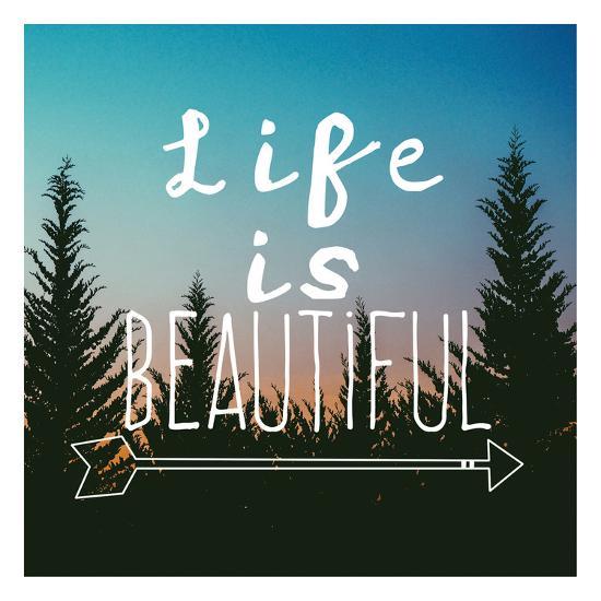 Insta Life Is Beautiful-Jelena Matic-Art Print