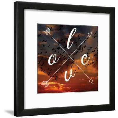Insta Love Arrows-Jelena Matic-Framed Art Print