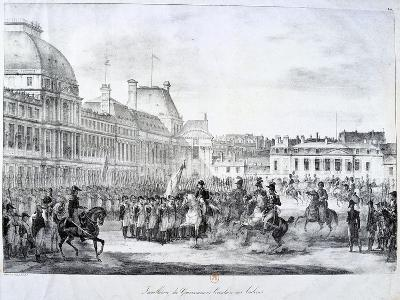 Installation of the Government at Tuileries, 19th Century--Giclee Print