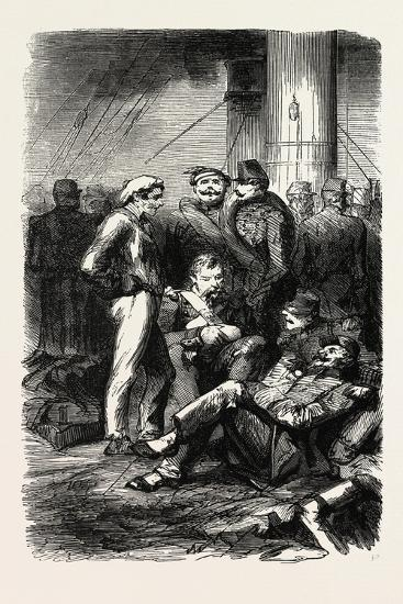 Installation on the Vessel. 1855--Giclee Print