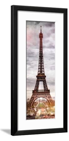 Instants of Paris Series - Eiffel Tower, Paris, France-Philippe Hugonnard-Framed Photographic Print