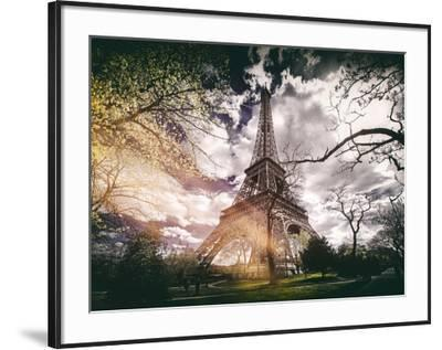 Instants of Series - Eiffel Tower - Paris, France-Philippe Hugonnard-Framed Photographic Print