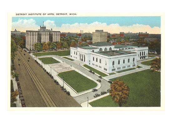 Institute of Arts, Detroit, Michigan--Art Print