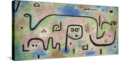 Insula Dulcamara-Paul Klee-Stretched Canvas Print