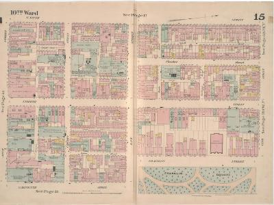 Insurance Map of the City of Philadelphia; Volume 2, Plate15, 1887-Ernest Hexamer-Giclee Print