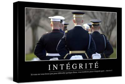 Intégrité: Citation Et Affiche D'Inspiration Et Motivation
