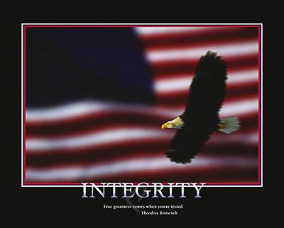 Integrity-Unknown-Art Print