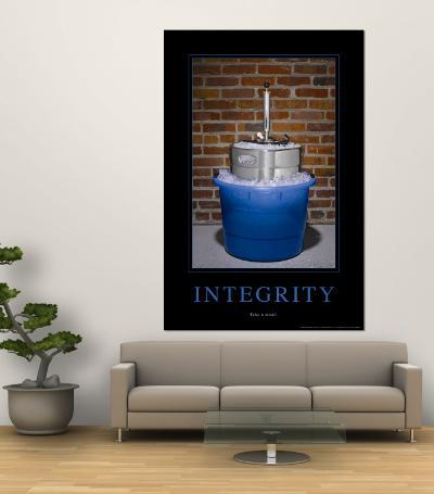 Integrity--Wall Mural