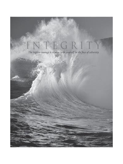 Integrity-Dennis Frates-Art Print