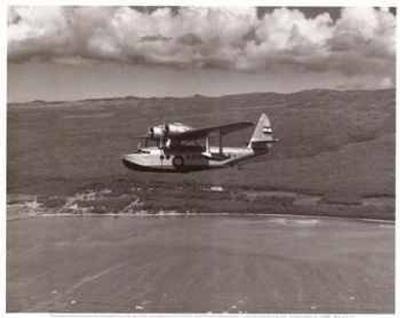 Inter-Island Airways, Sikorsky S-43, Kaunakakai, Molokai, Hawaii, 1936-Paul Sidney Grade-Art Print