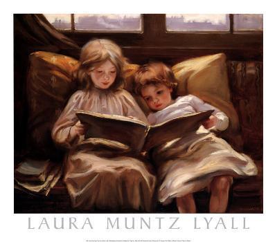 Interesting Story-Laura Muntz Lyall-Art Print