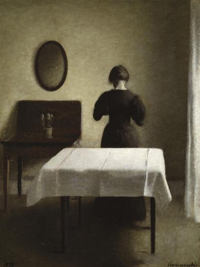 Interior, 1898-Vilhelm Hammershoi-Giclee Print