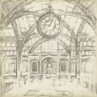 Interior Architectural Study I-Ethan Harper-Premium Giclee Print