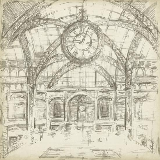 Interior Architectural Study I-Ethan Harper-Art Print