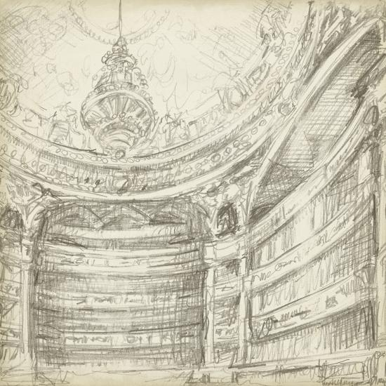 Interior Architectural Study II-Ethan Harper-Art Print