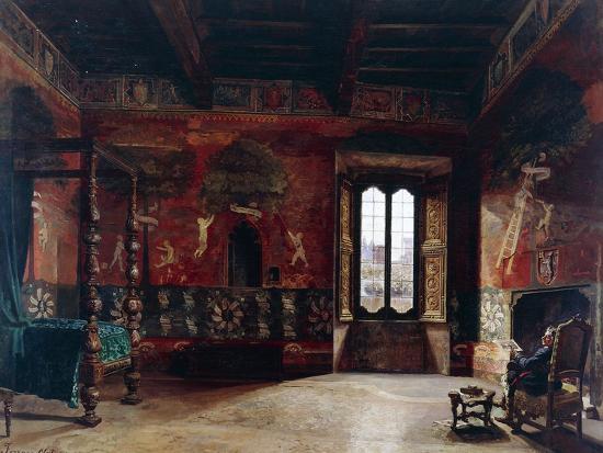 Interior, Arturo Ferrari (1861-1932)--Giclee Print