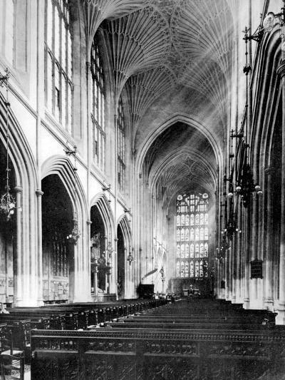 Interior, Bath Abbey, Somerset, 1924-1926-Humphrey Joel-Giclee Print