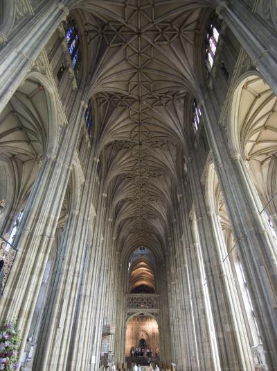 Interior, Canterbury Cathedral, Canterbury, Kent-Ethel Davies-Photographic Print