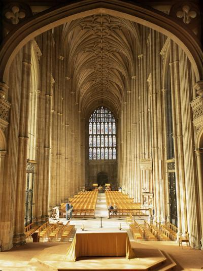 Interior, Canterbury Cathedral, Unesco World Heritage Site, Kent, England, United Kingdom-Roy Rainford-Photographic Print