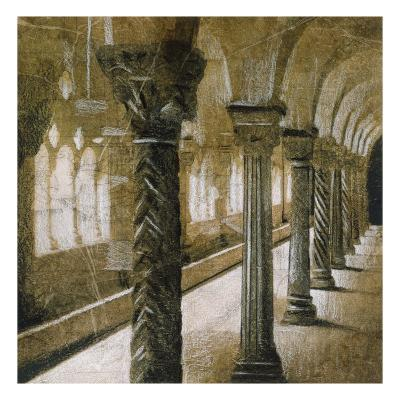 Interior Columns-John Douglas-Premium Giclee Print
