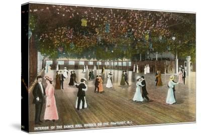 Interior, Dance Hall, Rhodes on the Pawtuxet, Rhode Island