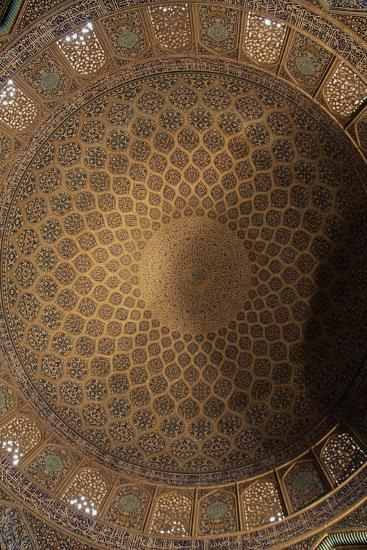 Interior Decoration of Dome of Sheikh Lutfollah Mosque--Giclee Print