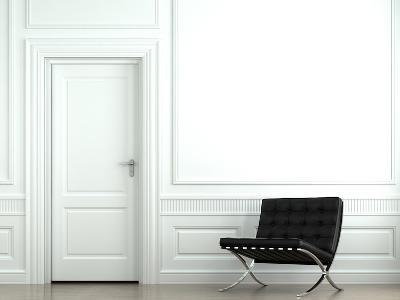 Interior Design Classic Wall With Chair-arquiplay-Photographic Print