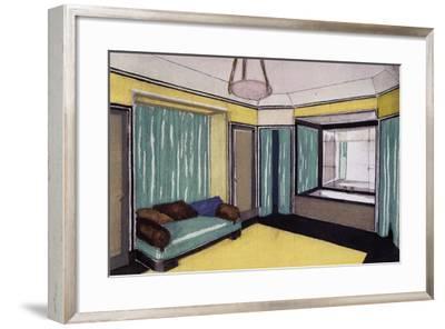Interior Design--Framed Giclee Print