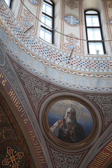 Interior Detail, Uspenski Cathedral, Helsinki, Finland, 2011-Sheldon Marshall-Photographic Print