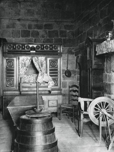 Interior, Dinan, Brittany, France, 1937-Martin Hurlimann-Giclee Print