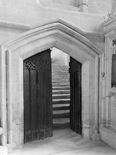 Interior Doorway, Wells Cathedral-Frederick Henry Evans-Photographic Print