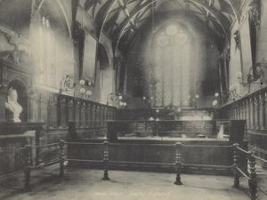 Interior, Exeter Guildhall, Devon