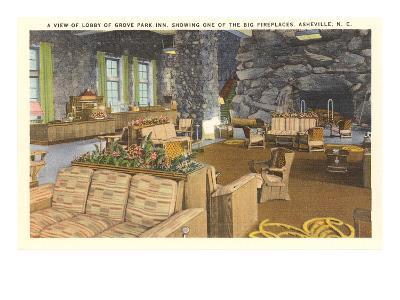 Interior, Grove Park Inn, Asheville, North Carolina--Art Print