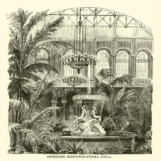 Interior, Horticultural Hall--Giclee Print