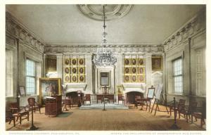 Interior, Independence Hall, Philadelphia, Pennsylvania