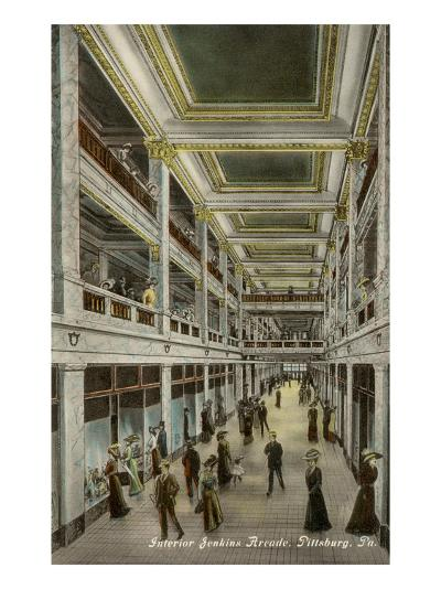Interior, Jenkins Arcade, Pittsburgh, Pennsylvania--Art Print