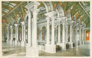 Interior, Library of Congress, Washington, DC