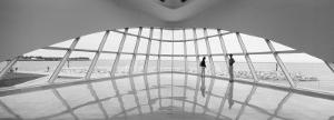 Interior Milwaukee Art Museum, Milwaukee, Wisconsin, USA