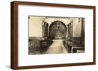 Interior, Mission Dolores, San Francisco, California