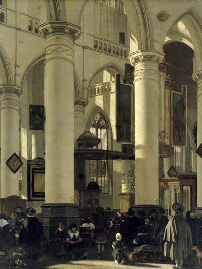 Interior of a Church-Emanuel de Witte-Giclee Print